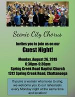Guest Night August 26!
